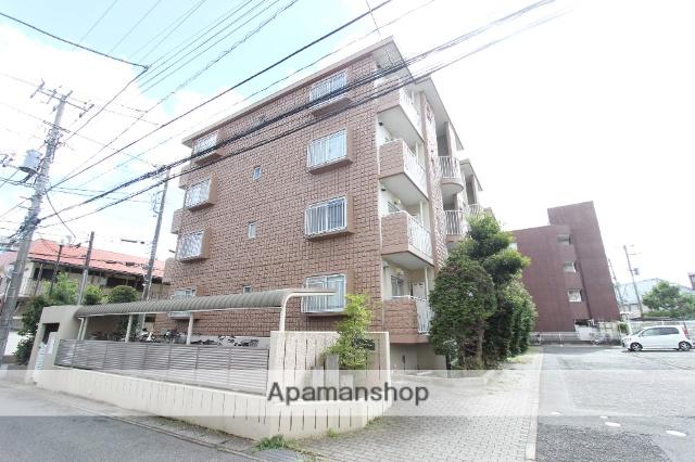 千葉県市川市、下総中山駅徒歩17分の築28年 4階建の賃貸マンション