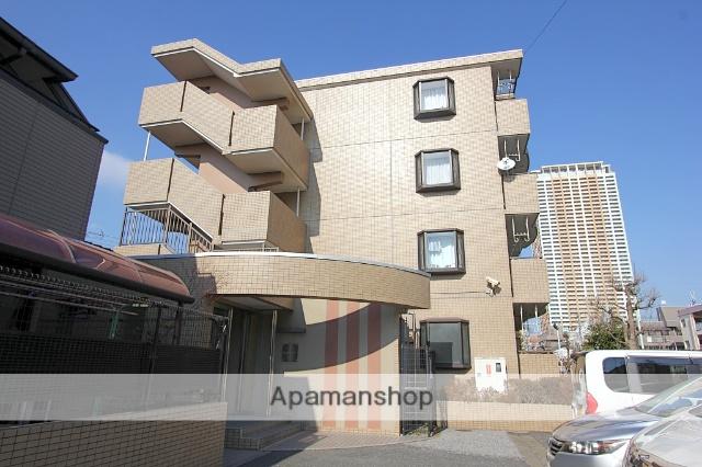千葉県市川市、市川駅徒歩7分の築23年 4階建の賃貸マンション