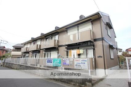 千葉県市川市、国府台駅徒歩20分の築29年 2階建の賃貸アパート