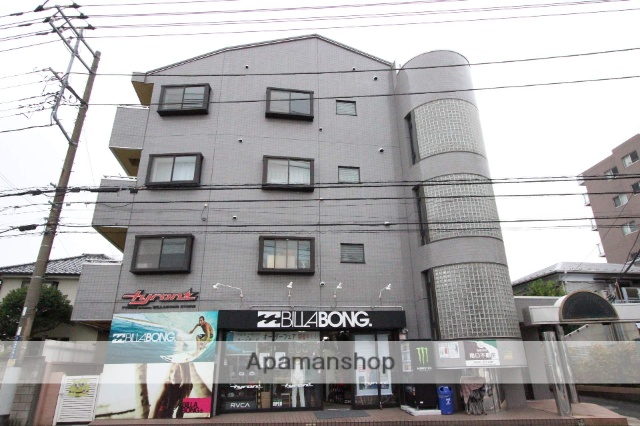 千葉県市川市、本八幡駅徒歩28分の築27年 4階建の賃貸マンション