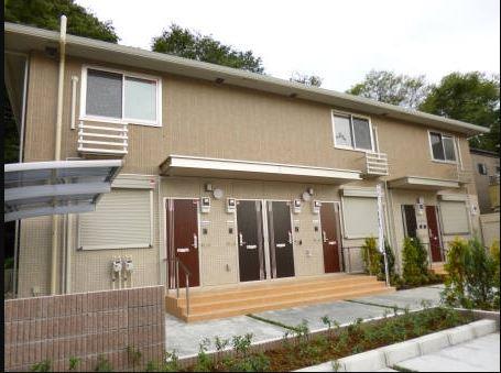 千葉県市川市、船橋法典駅徒歩13分の築4年 2階建の賃貸アパート