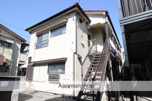 千葉県市川市、本八幡駅徒歩8分の築32年 2階建の賃貸アパート