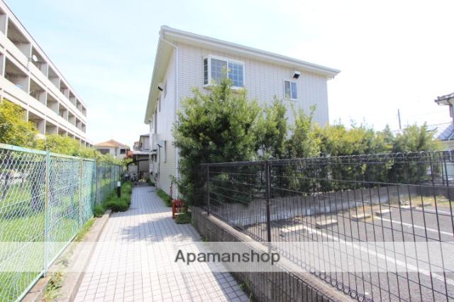千葉県市川市、本八幡駅徒歩17分の築20年 2階建の賃貸アパート