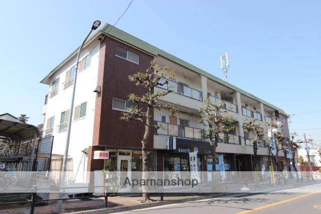 千葉県市川市、本八幡駅徒歩15分の築37年 3階建の賃貸マンション