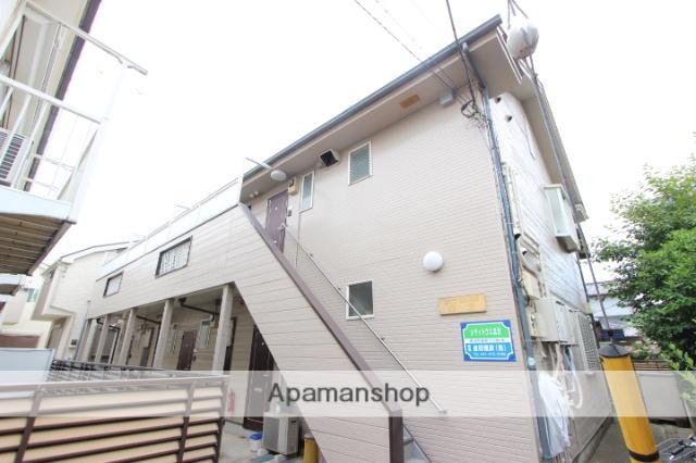 千葉県市川市、下総中山駅徒歩13分の築25年 2階建の賃貸アパート