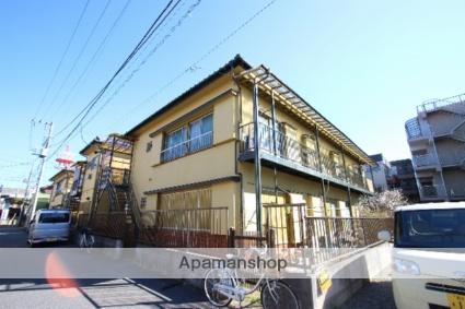 千葉県市川市、下総中山駅徒歩3分の築39年 2階建の賃貸アパート