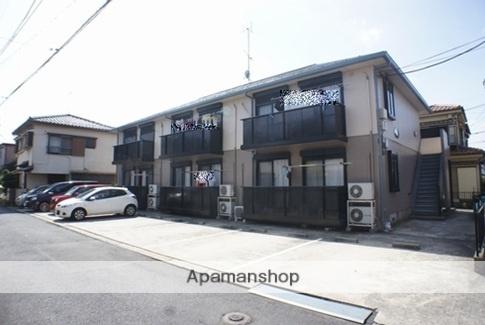 千葉県市川市、市川大野駅徒歩19分の築20年 2階建の賃貸アパート