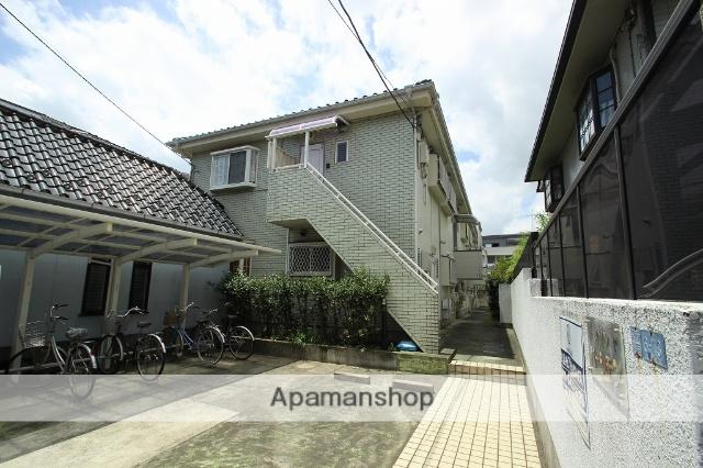 千葉県市川市、本八幡駅徒歩9分の築25年 2階建の賃貸アパート