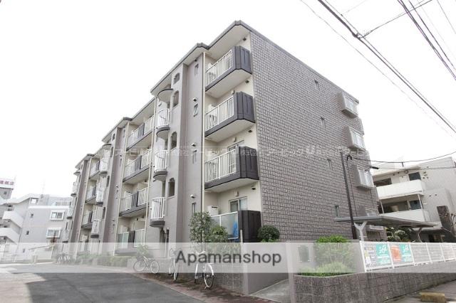 千葉県市川市、下総中山駅徒歩18分の築30年 4階建の賃貸マンション