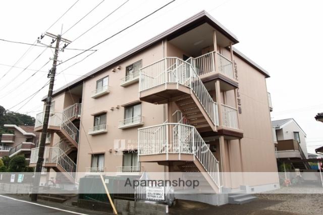 千葉県市川市、東松戸駅徒歩30分の築32年 3階建の賃貸アパート