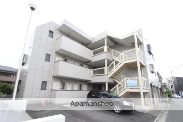 千葉県市川市、原木中山駅徒歩9分の築27年 3階建の賃貸マンション