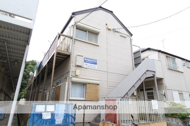 千葉県市川市、市川大野駅徒歩24分の築28年 2階建の賃貸アパート