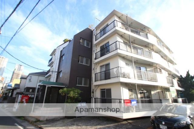 千葉県市川市、本八幡駅徒歩7分の築44年 4階建の賃貸マンション
