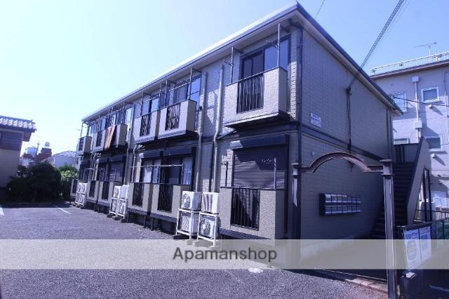 千葉県市川市、下総中山駅徒歩16分の築17年 2階建の賃貸アパート