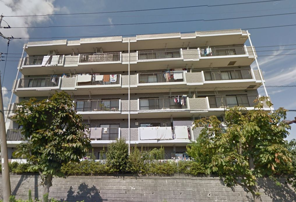 千葉県市川市、北国分駅徒歩4分の築18年 5階建の賃貸マンション