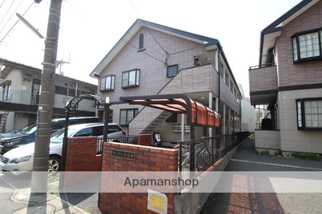 千葉県市川市、本八幡駅徒歩12分の築20年 2階建の賃貸アパート