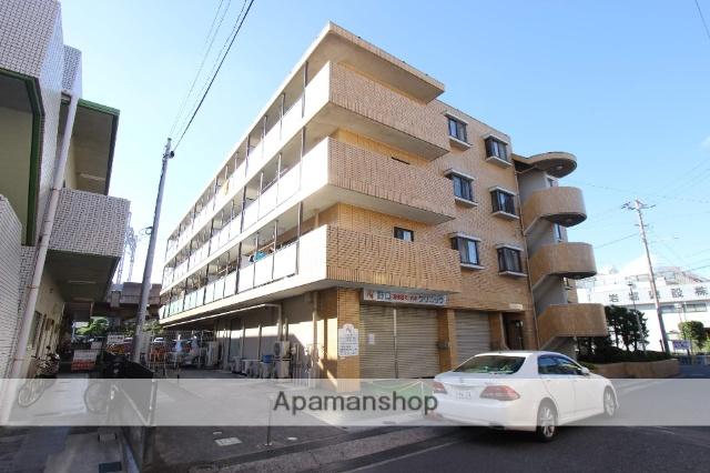 千葉県市川市、原木中山駅徒歩2分の築28年 4階建の賃貸マンション
