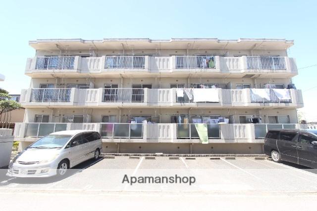 千葉県市川市、下総中山駅徒歩19分の築29年 3階建の賃貸マンション