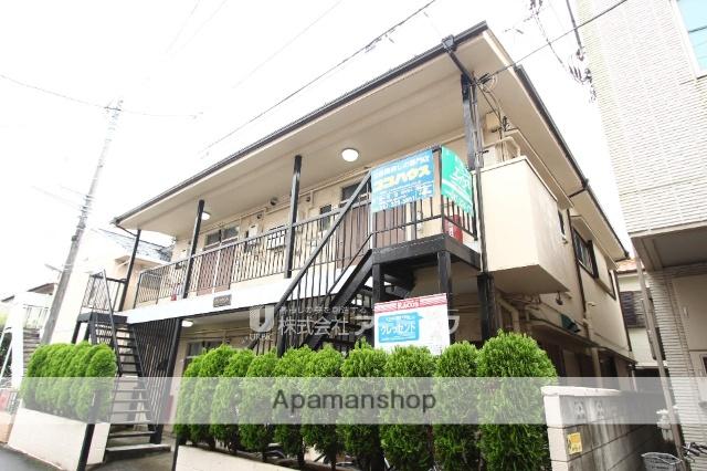 千葉県市川市、市川駅徒歩9分の築41年 2階建の賃貸アパート