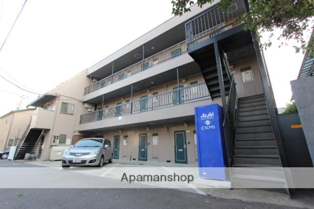 千葉県市川市、本八幡駅徒歩20分の築27年 3階建の賃貸マンション