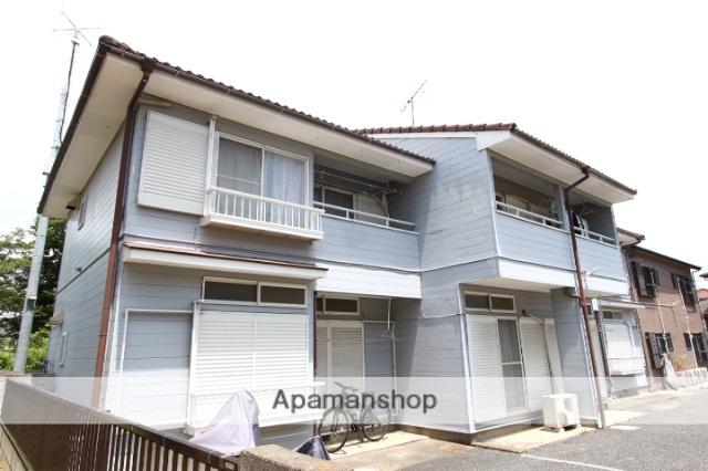 千葉県市川市、国府台駅徒歩20分の築45年 2階建の賃貸アパート