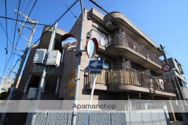 千葉県市川市、本八幡駅徒歩12分の築25年 3階建の賃貸マンション