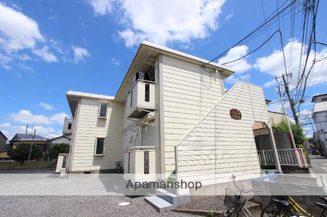 千葉県市川市、市川駅徒歩12分の築22年 2階建の賃貸アパート