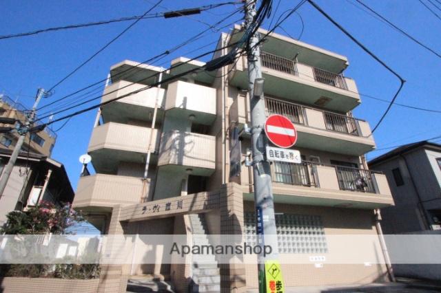 千葉県市川市、菅野駅徒歩8分の築24年 4階建の賃貸マンション