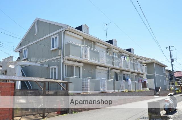 千葉県市川市、原木中山駅徒歩6分の築22年 2階建の賃貸アパート