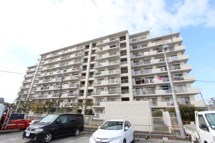 千葉県市川市、本八幡駅徒歩14分の築29年 9階建の賃貸マンション