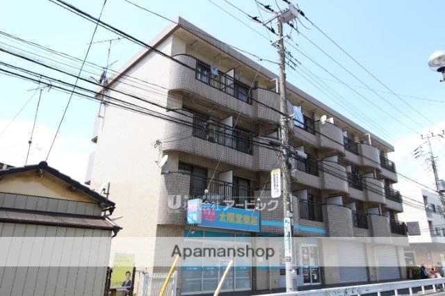 千葉県船橋市、原木中山駅徒歩1分の築25年 4階建の賃貸マンション