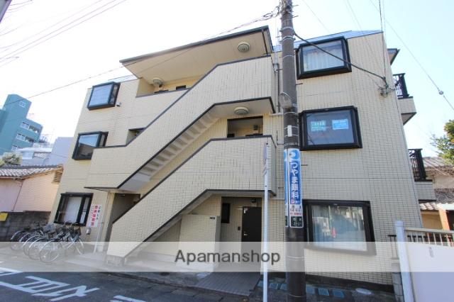 千葉県市川市、市川駅徒歩8分の築21年 3階建の賃貸マンション