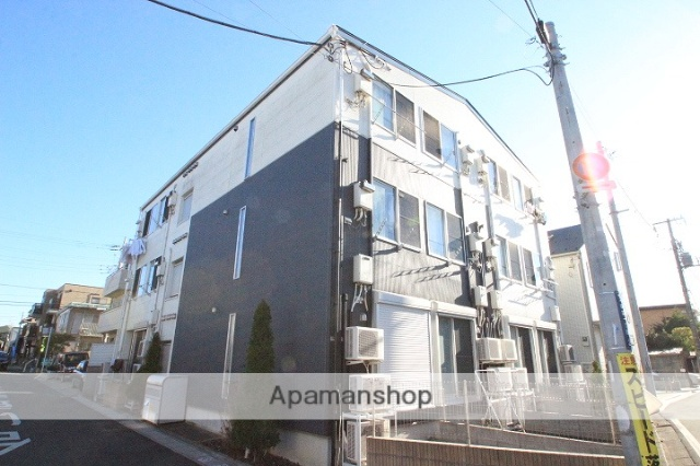 千葉県市川市、下総中山駅徒歩10分の築8年 3階建の賃貸アパート
