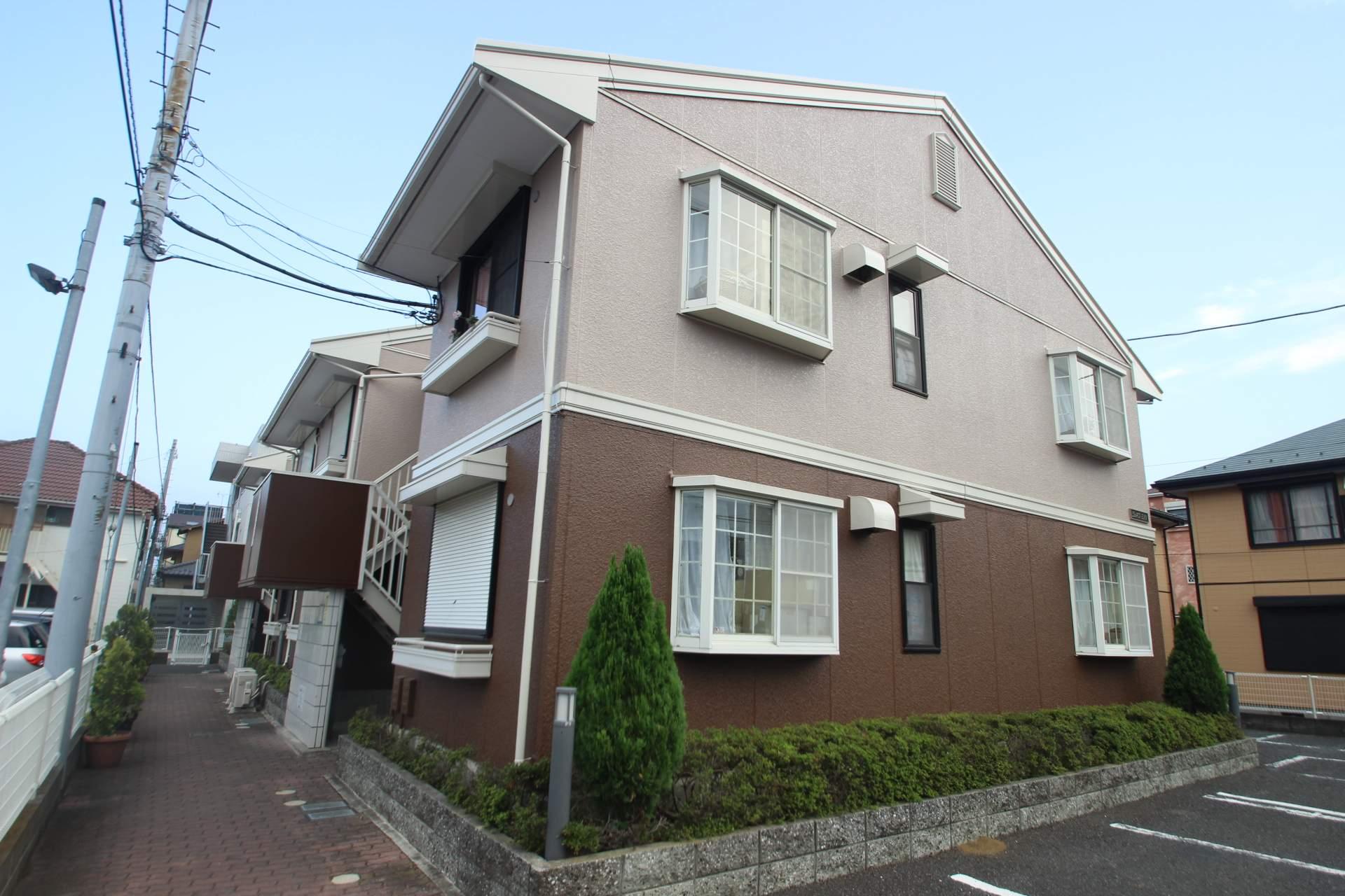 千葉県市川市、本八幡駅徒歩11分の築24年 2階建の賃貸アパート