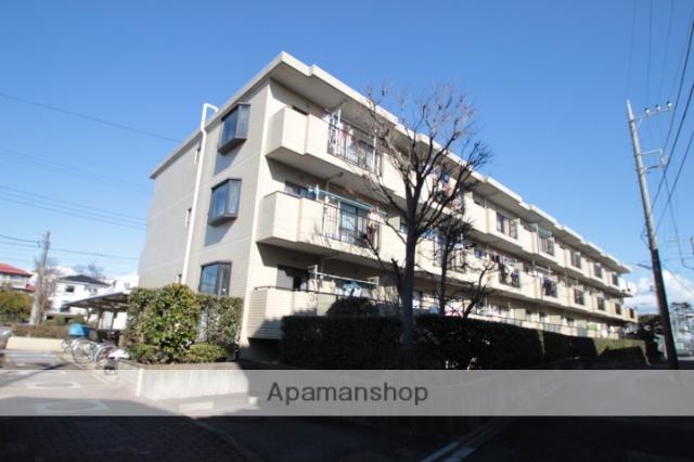 千葉県市川市、船橋法典駅徒歩13分の築27年 3階建の賃貸マンション
