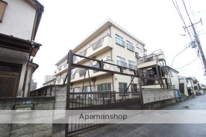 千葉県市川市、本八幡駅徒歩17分の築39年 3階建の賃貸マンション