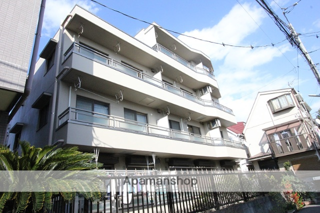 千葉県市川市、本八幡駅徒歩13分の築20年 4階建の賃貸マンション