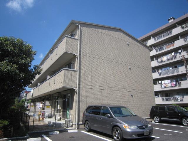 千葉県市川市、西船橋駅徒歩14分の築9年 3階建の賃貸マンション