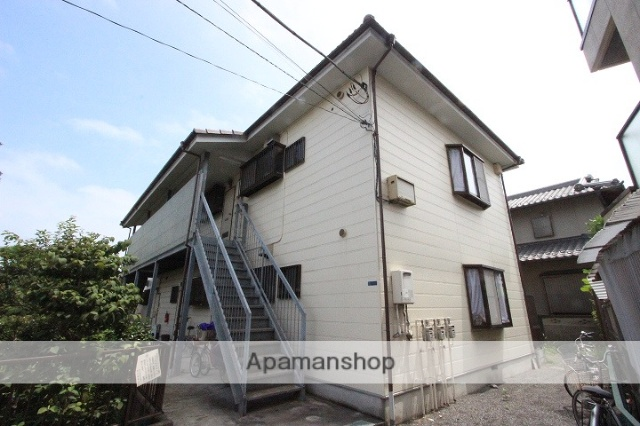 千葉県市川市、本八幡駅徒歩18分の築24年 2階建の賃貸アパート