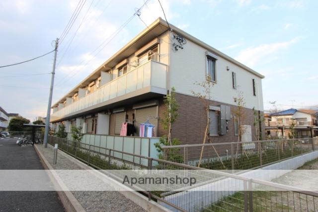 千葉県市川市、下総中山駅徒歩16分の築1年 2階建の賃貸アパート