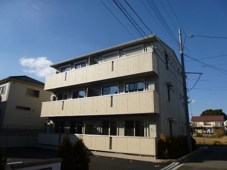 千葉県市川市、西船橋駅徒歩20分の築1年 3階建の賃貸アパート
