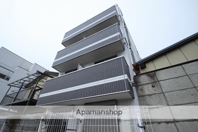 千葉県市川市、下総中山駅徒歩3分の築1年 4階建の賃貸マンション