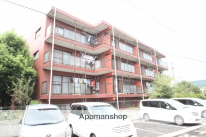 千葉県市川市、国府台駅徒歩26分の築17年 4階建の賃貸マンション