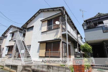 千葉県市川市、本八幡駅徒歩22分の築41年 2階建の賃貸アパート