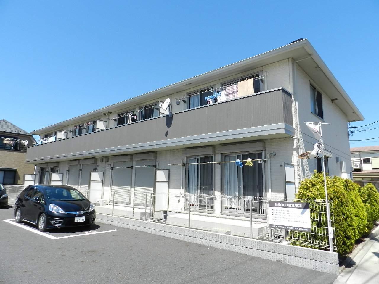 千葉県市川市、妙典駅徒歩8分の築8年 2階建の賃貸アパート