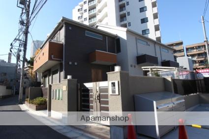 千葉県市川市、市川駅徒歩5分の新築 2階建の賃貸テラスハウス