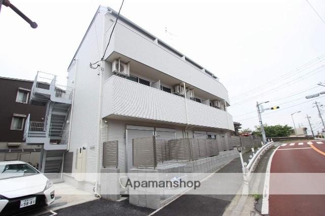 千葉県市川市、西船橋駅徒歩16分の新築 3階建の賃貸アパート