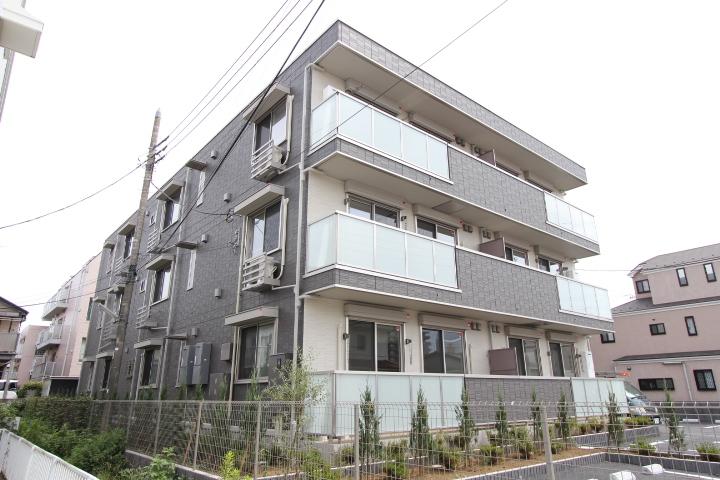 千葉県市川市、本八幡駅徒歩21分の新築 3階建の賃貸アパート