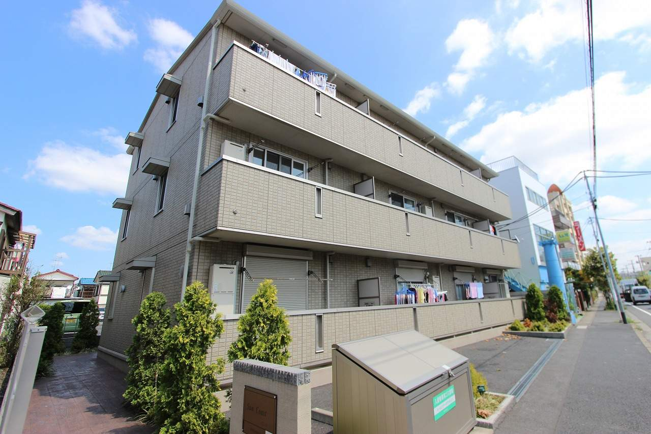 千葉県市川市、本八幡駅徒歩20分の築7年 3階建の賃貸アパート