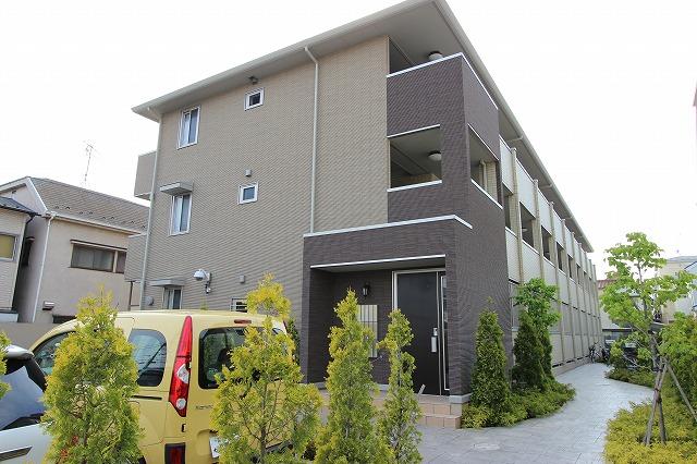 千葉県市川市、本八幡駅徒歩18分の築7年 3階建の賃貸アパート